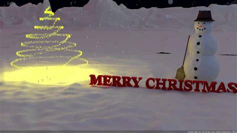 merry christmas  animation youtube