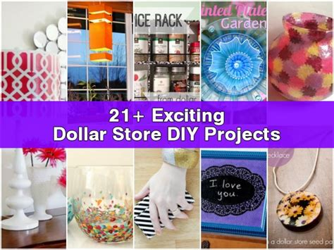 dollar store craft projects 21 exciting dollar store diy projects