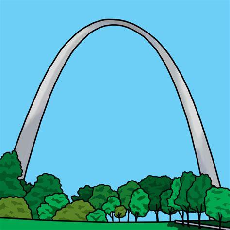 gateway arch clip art mt vernon b w abcteach