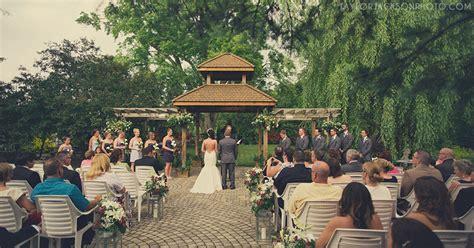 backyard wedding toronto madsen s wedding newmarket iuliana and brandon