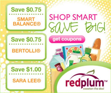 Printable Grocery Coupons Red Plum | redplum 19 new grocery coupons to print 8 29 10