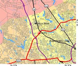 fayetteville nc zip code map free images