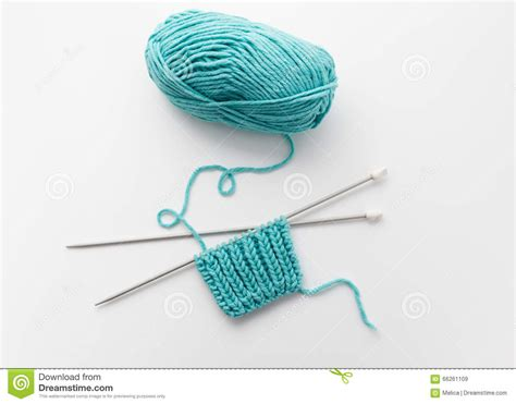 how to take yarn knitting needles of yarn and knitting needles stock image image