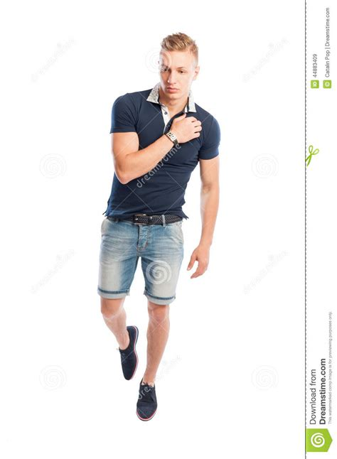 kleider modelle fashion model in summer clothes posing stock image