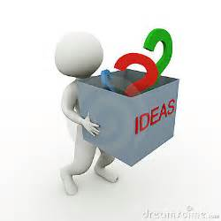 ideas and questions stock images image 19253374