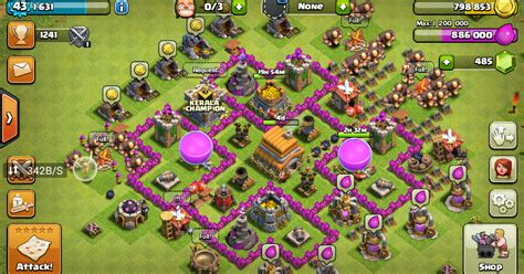 Layout Maker Clash Of Clans | clash of clans best layout maker and gems share tricks