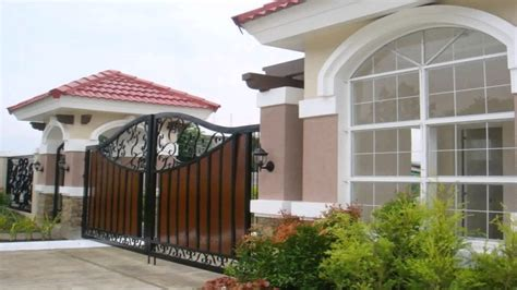 house design philippines youtube house gate design in the philippines youtube