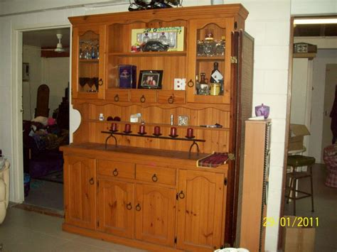 Kitchen Hutch For Sale Townsville Solid Pine Hutch Exc Cond 1800mm High X 1600mm Wide X