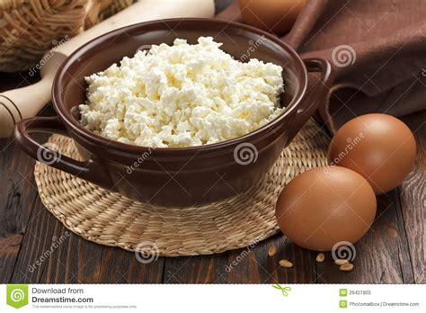 Cottage Cheese Eggs by Cottage Cheese And Eggs Stock Image Image Of Kitchen
