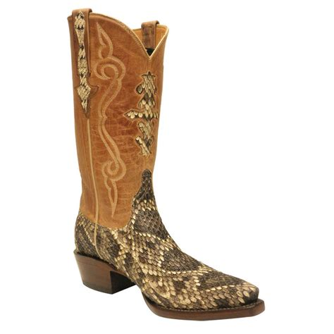 rattlesnake boots lucchese mens eastern rattlesnake boots pinto ranch