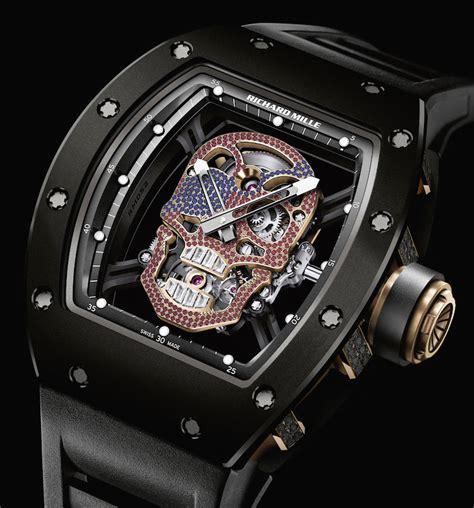 Richard Mille Rm Skull Black Slv 8 eerie skull watches for atimelyperspective