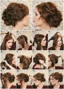 how to do fancy hairstyles for diy fancy bun hairstyle pictures photos and images for
