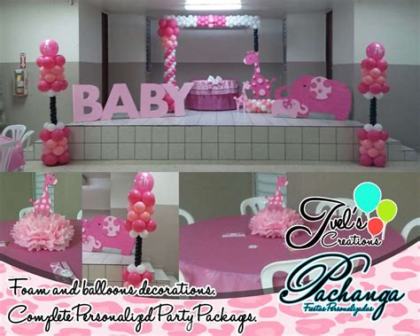 pink safari baby shower decorations sorepointrecords