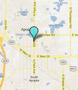 map of apopka florida apopka fl hotels motels see all discounts