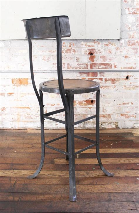 Island Stools For Sale Vintage Industrial Rustic Wood And Metal Bar Kitchen