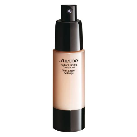 Di Shiseido shiseido fondotinta radiant lifting foundation d20 rich brown