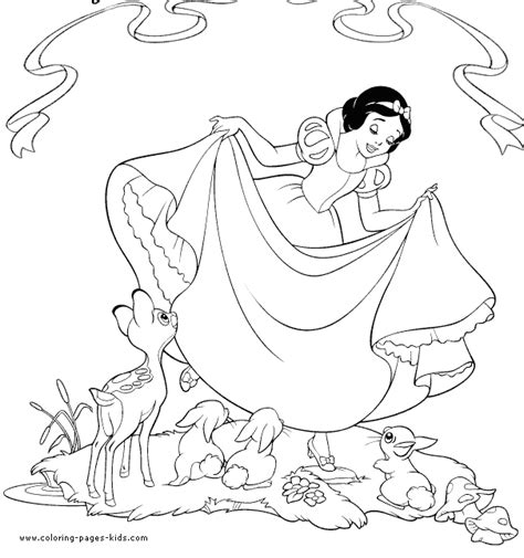 disney coloring pages gone wrong snow white and the seven dwarfs color page disney coloring