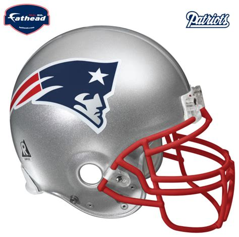San Francisco 49ers Home Decor by New England Patriots Helmet Fathead Nfl Wall Graphic