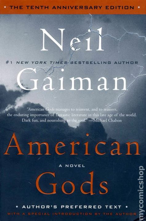 Pdf American Gods Tenth Anniversary Novel by American Gods Hc 2011 A Harpercollins Novel By Neil