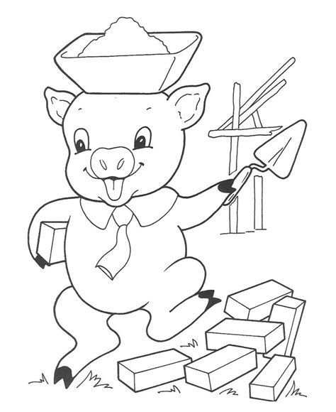 brick house coloring page free coloring pages of brick house