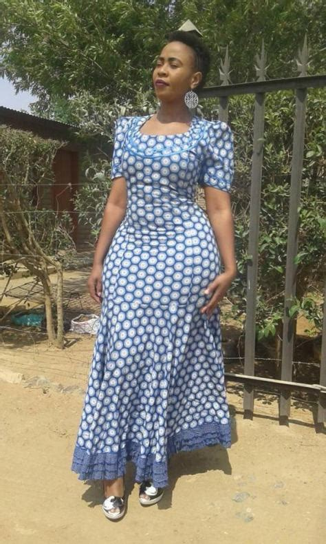 Lesotho ShweShwe Dresses 2018 You Must Love   Hairstyles 19