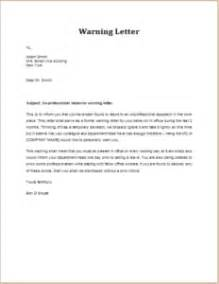 Behavior Letter To Parents From Teacher Template 8 Warning Letter Templates For All Situations Templateinn