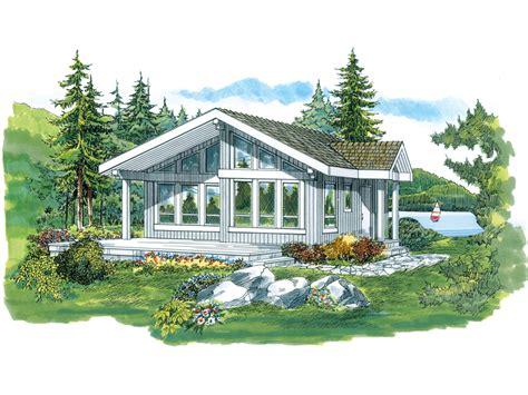Lake Como Vacation Cabin Home Plan 062d 0326 House Plans Vacation Cabin House Plans