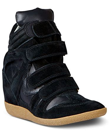 steve madden s hilight wedge sneakers shoes macy s
