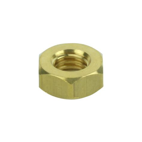 crown bolt 3 8 in brass machine nuts 34521 the