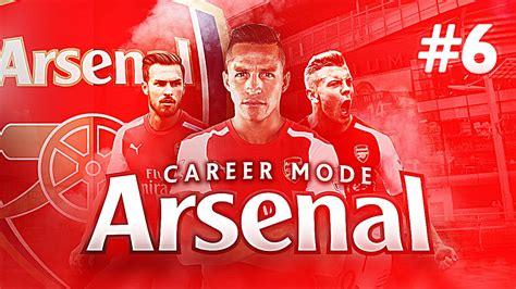 arsenal career fifa 15 arsenal career mode 6 shocking result youtube