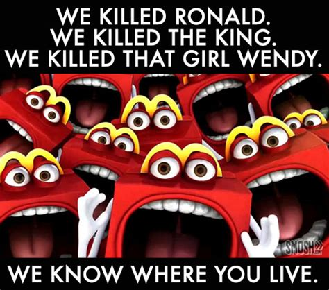 Happy Meal Meme - 6 potential horror movies starring happy the happy meal