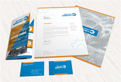 Shop Design Vorlagen Das Gro 223 E Corporate Design Paket Briefpapier Visitenkarten Flyer Sofort