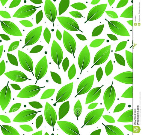 leaves pattern illustration royalty  stock