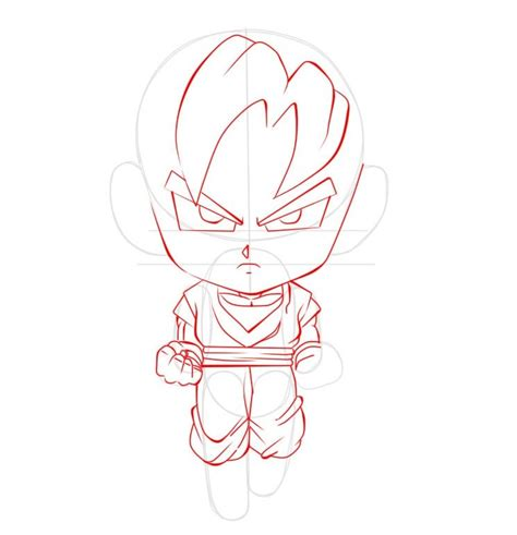 imagenes de goku que se puedan dibujar dibujar a goku chibi paso a paso ilustraideas