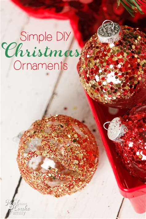 homemade ornaments fun christmas crafts for kids and
