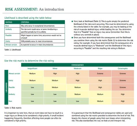Sle It Risk Assessment Template 12 Free Documents In Pdf Word Excel It Security Risk Analysis Template