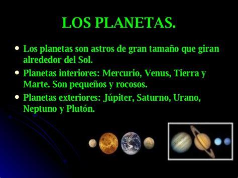 cuales son los planetas que giran alrededor del sol los astros del sistema solar