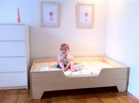 toddler bed diy diy projects diy toddler bed with birch plywood