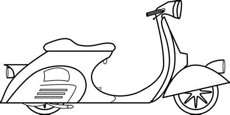 vespa scooter piaggio  vector graphic  pixabay