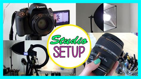 camera and lighting for youtube videos my lighting camera studio setup how to create great