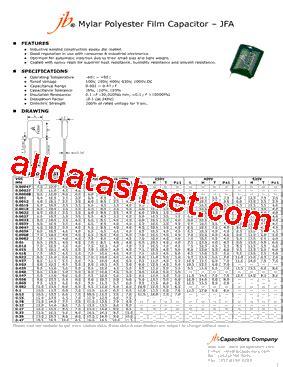 mylar capacitor datasheet mylar capacitor datasheet 28 images 0 015uf 100v mylar capacitor 100 n capacitor datasheet
