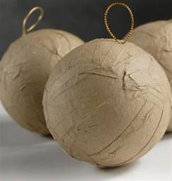 Table Numbers Holders 12 3 Inch Paper Mache Balls
