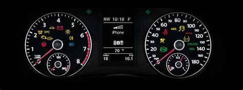 volkswagen dashboard warning lights  symbols