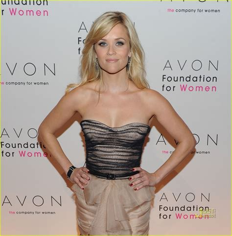 Reese Witherspoon Is An Avon by Reese Witherspoon Avon Foundation For Gala Reese