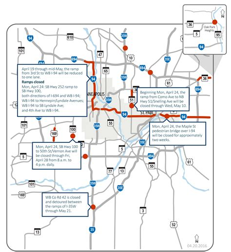 mndot traffic map ride here s mndot s newest map of cities traffic woes minnesota radio news