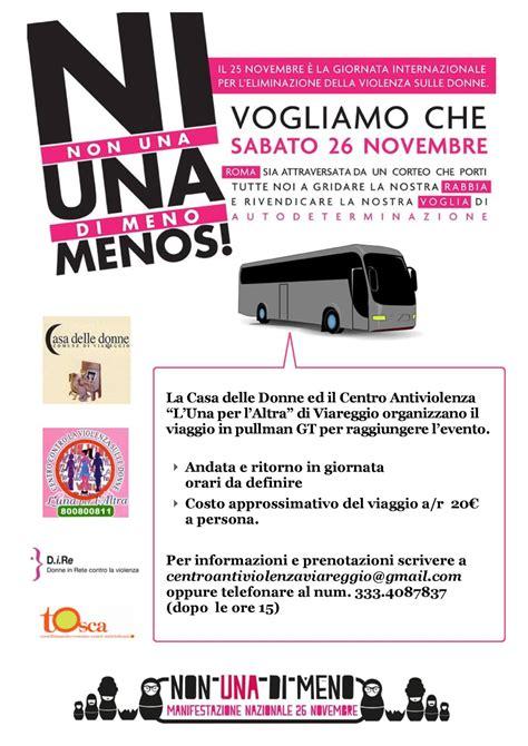 la casa delle donne roma non una di meno manifestazione 26 novembre 2016 a