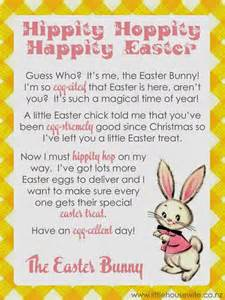 letter to easter bunny template letter from the easter bunny