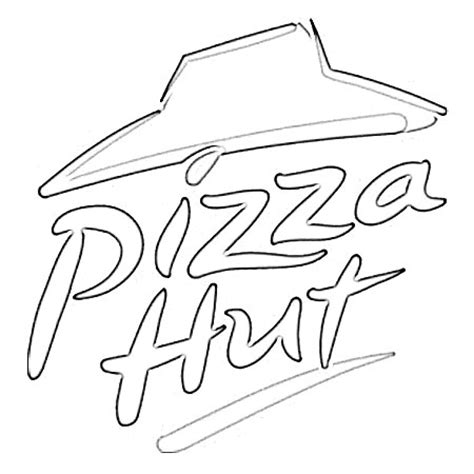 pizza hut logo sketch image sketch