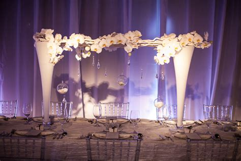 wedding decorations chic modern wedding the magazine