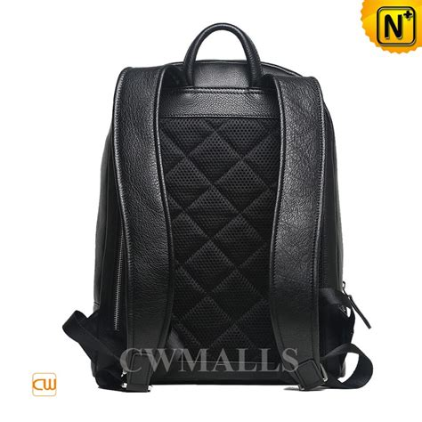 black leather laptop backpack black woven leather laptop backpack cw936230